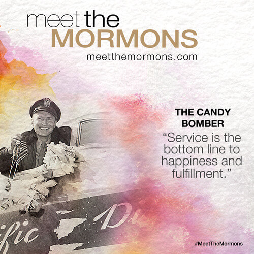 Meet the Mormons: The Candy Bomber